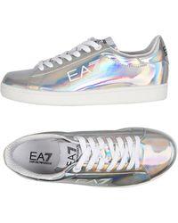EA7 Sneakers & Tennis basses - Métallisé