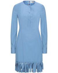 Ports 1961 Short Dress - Blue