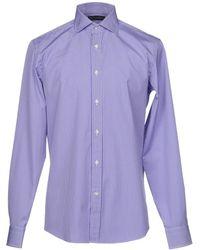 Ralph Lauren Black Label Camisa - Morado