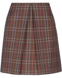 MM6 by Maison Martin Margiela Mini Skirt - Brown