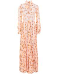 True Decadence Long Dress - Pink