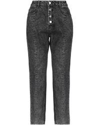 SJYP Denim Trousers - Black