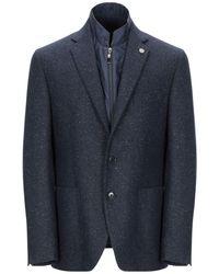 Facis Suit Jacket - Blue