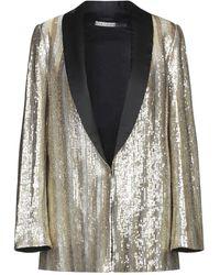 Alice + Olivia Suit Jacket - Metallic