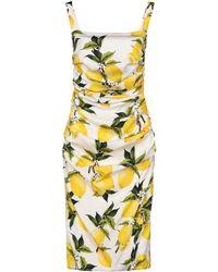 Dolce & Gabbana - Knee-length Dress - Lyst