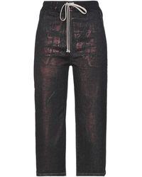 Rick Owens DRKSHDW Pantalon en jean - Noir