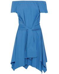 Halston Minivestido - Azul