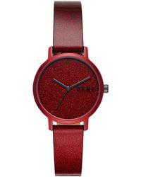 DKNY Wrist Watch - Red