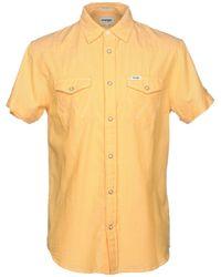 Wrangler Shirt - Yellow