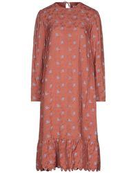 Paul & Joe 3/4 Length Dress - Pink