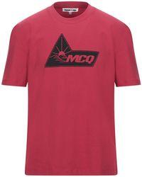 McQ T-shirt - Rosso