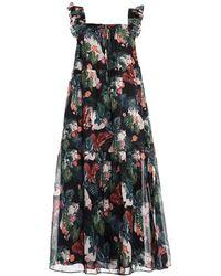 Paul & Joe 3/4 Length Dress - Black