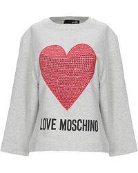 Love Moschino Sudadera - Gris