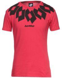 Lotto Leggenda T-shirt - Red