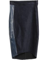 8pm Midi Skirt - Blue