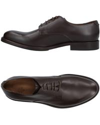 Eleventy Lace-up Shoes - Brown