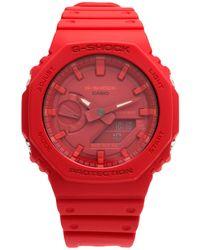 G-Shock Reloj de pulsera - Rojo