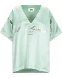 MM6 by Maison Martin Margiela Blouse - Blue