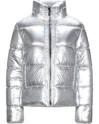 Trussardi Down Jacket - Metallic