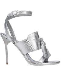 Burberry Sandals - Metallic