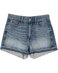 G-Star RAW Short en jean - Bleu