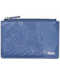 MCM Porte-monnaie - Bleu