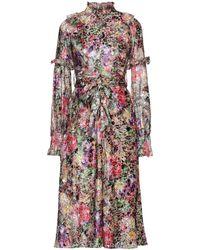 Manoush Vestido midi - Multicolor