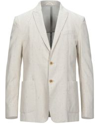Dondup Suit Jacket - Natural