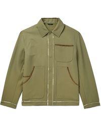 Fendi Overcoat - Green