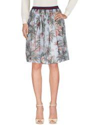 Shirtaporter - Knee Length Skirts - Lyst