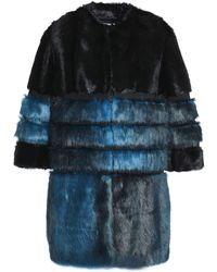 Ainea Teddy Coat - Blue