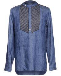 Balmain | Denim Shirt | Lyst