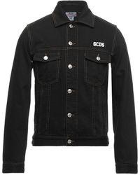 Gcds Denim Outerwear - Black