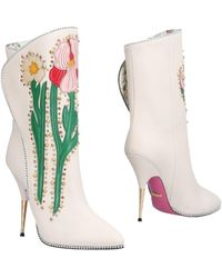 Gucci Ankle Boots - White