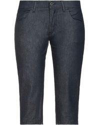 Miu Miu Pantacourt en jean - Bleu