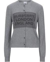 Burberry Cardigan - Grigio