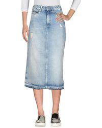 Calvin Klein Jeans | Denim Skirt | Lyst
