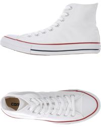 Converse Sneakers & Tennis shoes alte - Bianco