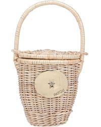 Patou Handbag - Natural