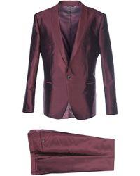 Dolce & Gabbana Suit - Purple