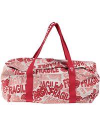Daniele Alessandrini Homme Travel Duffel Bags - Red