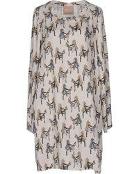 81hours - Short Dress - Lyst