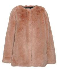 Pinko Teddy Coat - Brown