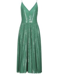 MSGM 3/4 Length Dress - Green