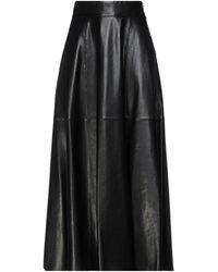 FEDERICA TOSI Long Skirt - Black