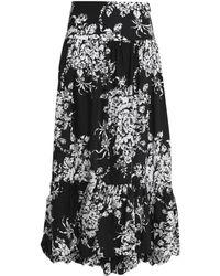 Sonia Rykiel Midi Skirt - Black