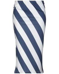 Iceberg Midi Skirt - Blue