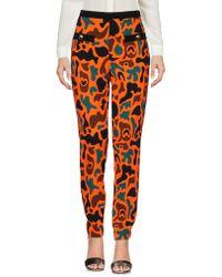 Moschino Casual Pants - Orange