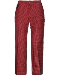 Marc Jacobs Casual Trousers - Red