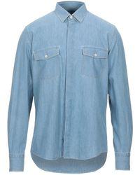 Low Brand Denim Shirt - Blue